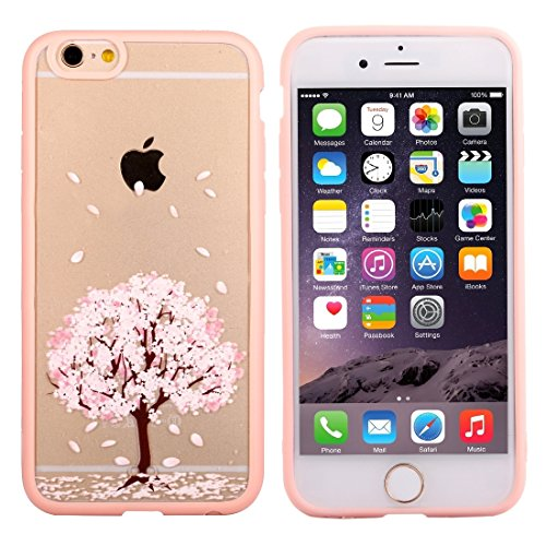 GHC Cases & Covers, Für iPhone 6 & 6s Cherry Blossom Blumenmuster Transparente Kunststoff Schutzhülle ( SKU : IP6G0689B ) IP6G0689H