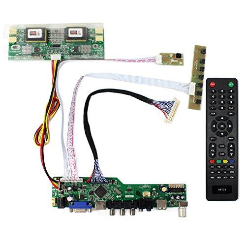 HDMI + VGA + AV + USB + HF-Eingang LCD-Controller-Karte für M170EG01 LM190E02 17