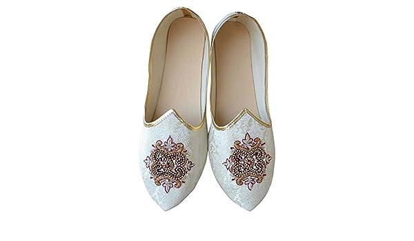 Chaussures INMONARCH Hommes Chaussures de Mariage Indien Bordeaux MJ0080