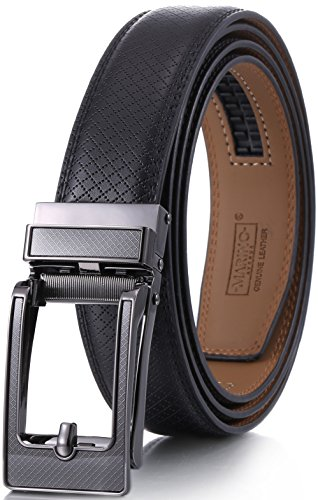 marino-mens-genuine-leather-ratchet-dress-belt-with-open-linxx-buckle-enclosed-in-an-elegant-gift-bo