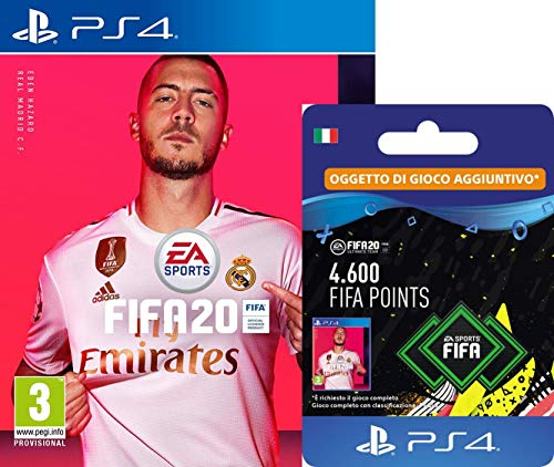 FIFA20 Standard [PS4] + 4600 FIFA Points [Codice - Download PS4]