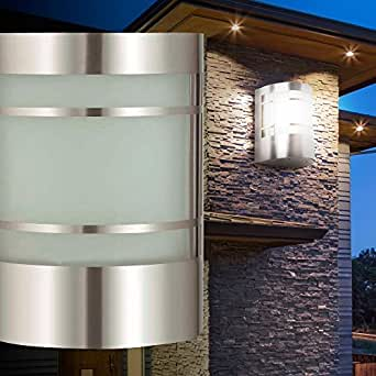 wandleuchte wandlampe au enbeleuchtung terrasse lampe licht modern garten bt1010c. Black Bedroom Furniture Sets. Home Design Ideas