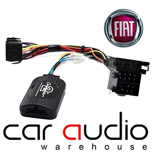 Adattatore per interfaccia di controllo comandi al volante audio T1, modello T1-FT4, per Fiat, cavo patch incluso.