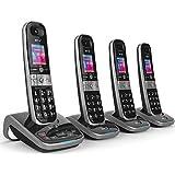 BT 8610 Quad Digital Cordless Phone With Answer Machine & Advanced Call Blocking