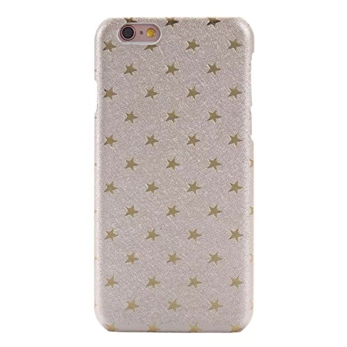 iPhone Case Cover iPhone 6 / 6S Plus-Abdeckungs-Fall, Solid Color-Abdeckung mit Sternen harte Plastikabdeckung für Apple iPhone6 ​​6S ( Color : C , Size : IPHONE 6/6S PLUS ) C