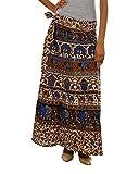 Fashiana Women Brown Multi Colored Long ...