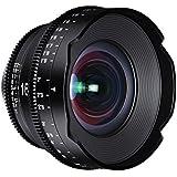 ROKINON XEEN 16mm T2.6Professional Cine objectif pour micro 4/3objectif interchangeable appareils photo (MFT), Noir (Xn16-mft)