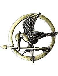 Fashion-Broche en Laiton pour Femme ou Homme en Motif de Hunger Games Ridicule Bird Style PUNK ROCk Vintage