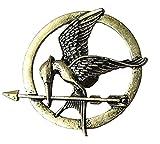 Die Tribute Von Panem Spotttölpelbrosche Katniss Everdeen Pin Bogen Kette Umhängekette Umhänger Bronze