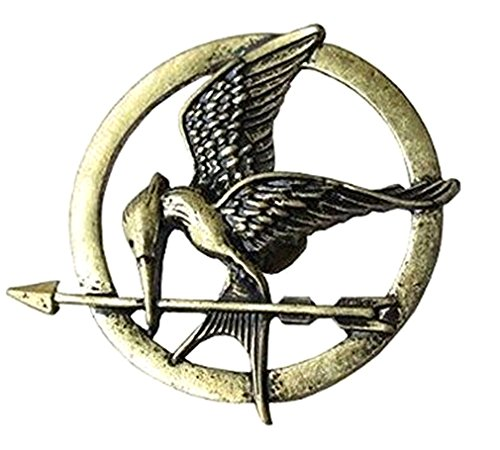 Orion Creations Hunger Games Mockingjay Broch