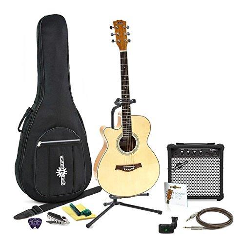 Guitarra Electroacústica Cutaway Zurda + Pack Completo