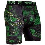 Venum Green Viper Short de Compression Homme, Noir/Vert, FR (Taille Fabricant : XL)