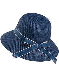 Cappello Cappello estivo femminile di cappello di paglia Beige 5873b4202854