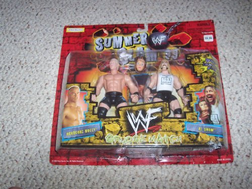 WWF Summer Slam 99 Grudge Match Hardcore Holly vs Al Snow Action Figure Set by Jakks Pacific
