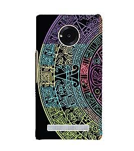 Astrology Design 3D Hard Polycarbonate Designer Back Case Cover for YU Yuphoria YU5010