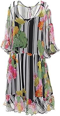Blugirl Mujer 2140101967 Multicolor Poliéster Vestido