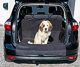BAVANI Kofferraumschutz Kofferraumdecke für Hunde mit Seitenschutz und Ladekantenschutz Schmutz- und Wasserabweisend – Kofferraumschutzmatte mit extra starker Befestigung