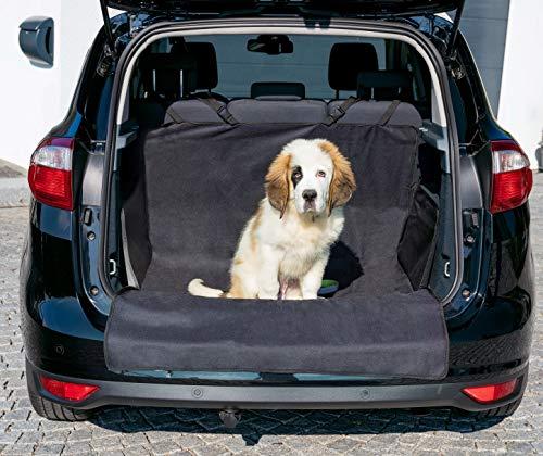 BAVANI Kofferraumschutz Kofferraumdecke für Hunde mit Seitenschutz und Ladekantenschutz Schmutz- und Wasserabweisend - Kofferraumschutzmatte mit extra starker Befestigung