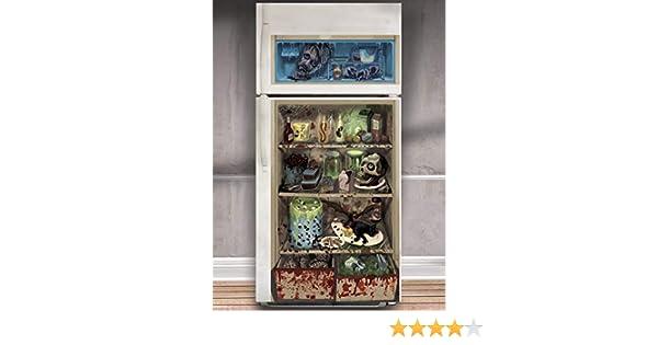 Kühlschrank Folie : Kultfaktor gmbh horror kühlschrank folie halloween party deko bunt