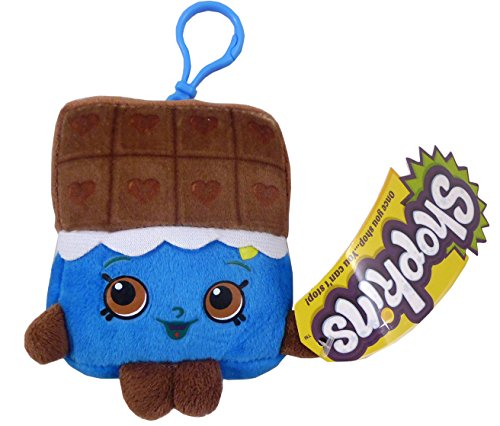 Shopkins Plush Bag Clip - Cheeky Chocolate - Children's Accessories