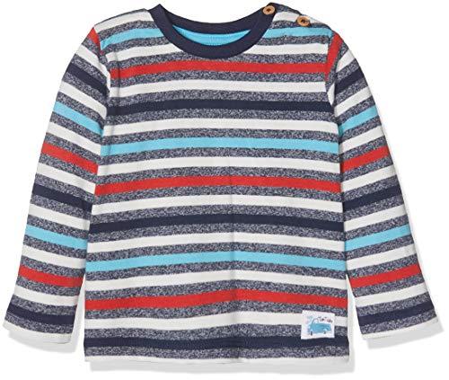 TOM TAILOR Kids Baby-Jungen Langarmshirt T-Shirts 1/1, Blau (Black Iris|Blue 3800), 62
