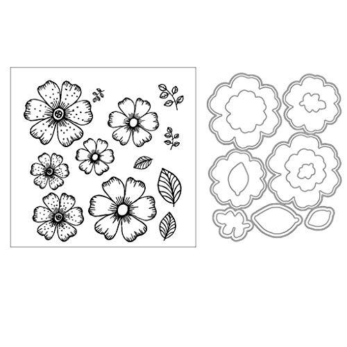 cicikiki Flower DIY Cutting Dies Stencil DIY Scrapbooking Embossing Paper Card Decor New -