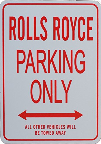 rolls-royce-parking-only-sign