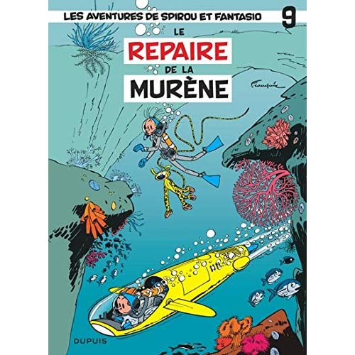 Les Aventures de Spirou et Fantasio, Tome 9 : Le repaire de la murène : Opé l'été BD 2019