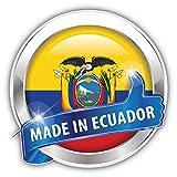 postwalldecor Made in Ecuador Glossy Label Hochwertigen Auto-Autoaufkleber 12 x 12 cm