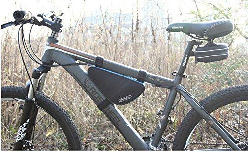 XY&GKFahrradtasche Dreieck Tasche Strahl Pack Mountain Car Front Bag Satteltasche Oberrohr Fahrrad Zubehör Kit Reiten Ausrüstung, machen Ihre Reise angenehmer C