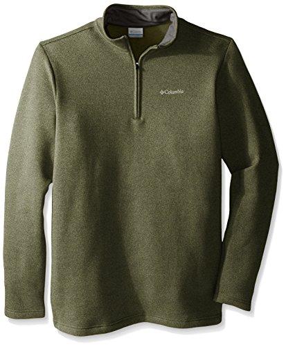 Columbia Herren Henley Shirt - Grün - (Henley Columbia)