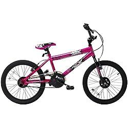 Flite FL019 - Bicileta BMX, 7 a 14 Years, color rojo