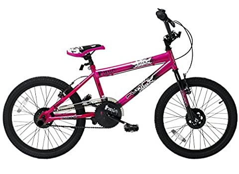 Flite Girl's Panic BMX Bike, 20 inch - Pink