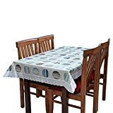 CASA FURNISHING 6 Seater PVC Table Cover; 3D IMPACT; 60x90 Inches DINING TABLE COVER 6 SEATER 3D IMPACT [3D-16]