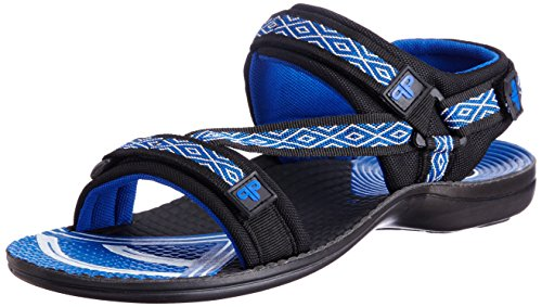 Provogue Men's Blue Mesh Sandals and Floaters - 8 UK  available at amazon for Rs.349