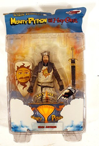 Monty Python and the Holy Grail Talking Action Figures, King Arthur by Prannoi