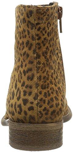 Yep Alix 1073, Boots fille Beige (Croute Leopard)