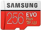 Samsung Mo de mc256ga/AMZ Carte mémoire, 256Go Transparent [Emballage gratuit Amazon Frustration]