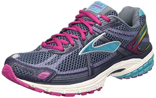 Brooks Women Vapor 3 Running Shoes, Multicolor (Peacoat/Bleue Bird/Festival Fuchsia), 8 UK...