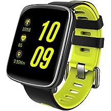 [Regalo] HAMSWAN Smartwatch Impermeable IP68 Anti-Agua Bluetooth Reloj Inteligente Deportivo con Pulsómetro/Podómetro/Monitor de Sueño/Contadior de Caloría/ Cámara ect. Para Móviles Andriod o iPhone