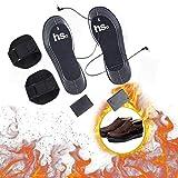 Beheizte Einlegesohlen für Damen Herren - Aolvo Elektrische Wärmesohlen Einlegesohlen Fußwärmer Pads Elektrische Wärmefüße Schuhsohlen 1 Paar, Anzug für Winterski (Nicht Batterie enthalten)
