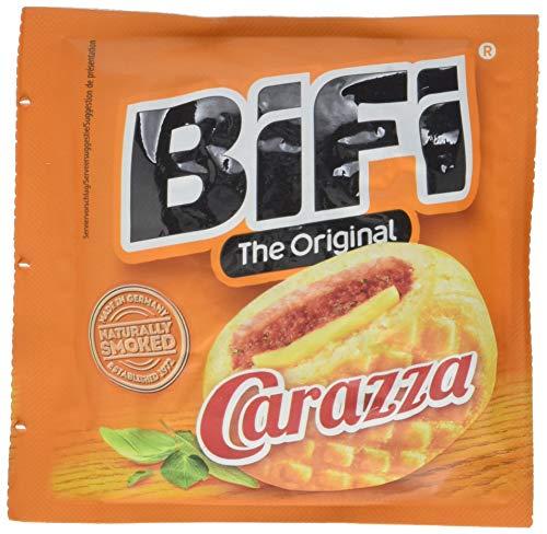 BiFi Carazza Original - Herzhafter Pizzasnack zum Mitnehmen - 30er Pack (30 x 40g)