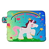 Baby Kinderzimmer Teppiche Kids Krabbeldecke Play Matte tragbar Toys Storage Einhorn Muster Pad Kissen