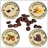 Hop Café - Offre Découverte Café en grains Aromatisé - 4 x 125g