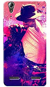Lets Play Premium Printed Soft Silicon Cool Case Mobile Cover for Lenovo A6000