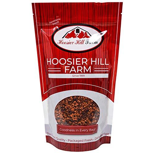 Speck-freie Streifen Aromatisierte Sojaprotein Speckersatz (1,36 kg) Fleischersatz - Texturiertes Pflanzenprotein von Hoosier Hill Farm