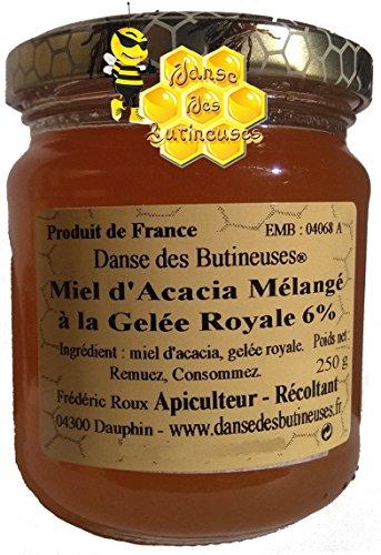 miel-dacacia-melange-a-la-gelee-royale-6-250g-liquide-produit-de-france