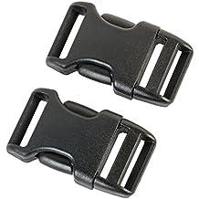 4Stk Kunstoff Steckschnalle Steckverschluss Klickverschluss Outdoor 20-50mm