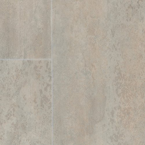 PVC Bodenbelag Steinoptik   Fliesenoptik weiß grau   200, 300 und 400 cm Breite   Meterware, verschiedene Größen   Größe: 3 x 4 m