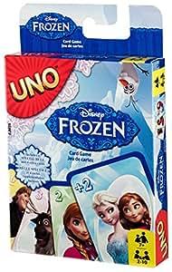 Mattel Spiele CJM70 – Kartenspiele, UNO Die Eiskönigin